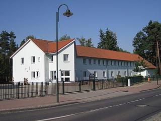 Löcknitz Place in Mecklenburg-Vorpommern, Germany