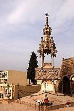 Panteón Casanovas-Terrats en el cementerio de Lloret de Mar (1901)