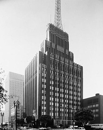 Richfield Tower - Image: LOC Richfield 19 LOSAN67 2