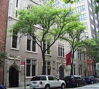 Little Red School House - Elisabeth Irwin High School at 40 Charlton Street