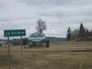La Rivière, Manitoba - Image: La Riviere Manitoba May