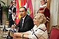 La alcaldesa entrega la Llave de Oro de Madrid al presidente de Perú 13.jpg