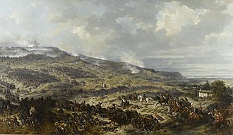 Battle of the Alma - French troops at the Battle of the Alma