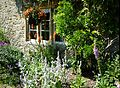Lacock - Picturesque architecture 13-18. Cent. front garden02.jpg