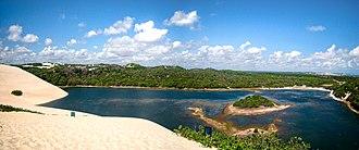 Genipabu - Genipabu (dunes and lagoon).