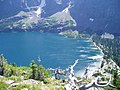 Lake Ellen Wilson and its beautiful glacial coloration on a Sunday afternoon in July, 2007 - panoramio.jpg