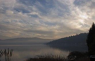 Lake Sammamish - Image: Lake Sammamish sunset
