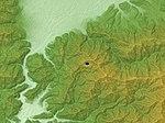 Lake Shibire Relief Map, SRTM-1.jpg