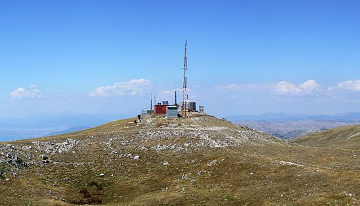 Galičica mountains - Lako Signoj peak