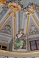 Lamporecchio, villa rospigliosi, interno, salone di apollo, con affreschi attr. a ludovico gemignani, 1680-90 ca., segni zodiacali, cancro 01.jpg