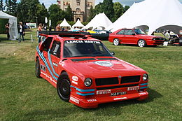 Lancia Delta ECV at Legendy 2014.JPG