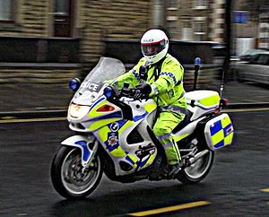 Lancashire Constabulary - BMW k1200