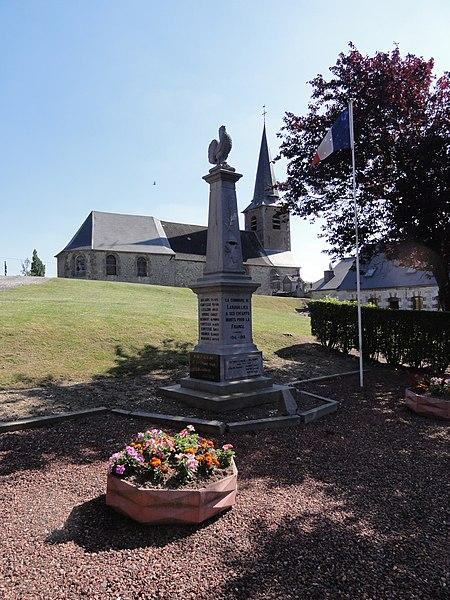 Larrouillies (Nord, Fr) monument aux morts