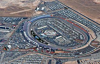Las Vegas Motor Speedway - Image: Las Vegas Motor Speedway in March 2011