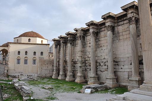 Lascar Library of Hadrian - Agora (4517762194)