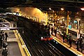 Last steam of the night, 'Met One' whistles through Farringdon. - panoramio.jpg