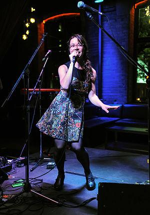 Laura Barrett (singer-songwriter) - Laura Barrett at the 2015 Canadian Film Centre Slaight Music Residency Showcase.