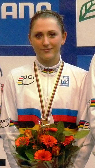 Cheshunt - Laura Kenny is the first British woman to win four Olympic Gold Medals.