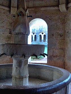 Lavabo, Abbaye du Thoronet