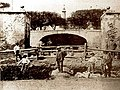 Lavori per la costruzione della Fontana del Gigante (1908 circa).jpg