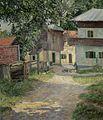 Lazar Michajlovic Diamant Dorf im Sommer 1921.jpg