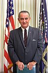 Lyndon Baines Johnson, thirty-sixth President of the United States