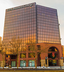 Current Home Of The College At Triad Center In Salt Lake City LDS Business