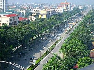 Thanh Hóa - Image: Le Loi avenue