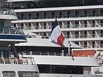 Le Soleal Flag Port of Tallinn 3 June 2018.jpg