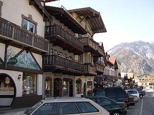Leavenworth's main street reflects its modelli...