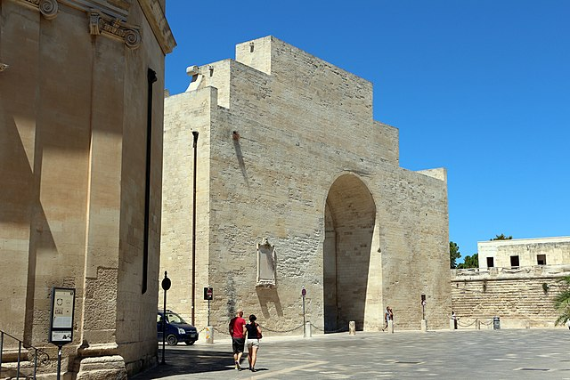 Porte Interne A Lecce.File Lecce Porta Napoli Interno Jpg Wikimedia Commons