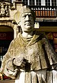 Leicester,Abbey Park, statue Cardinal Wolsey - panoramio.jpg