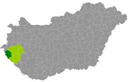 magyarország térkép lenti Lenti járás – Wikipédia magyarország térkép lenti