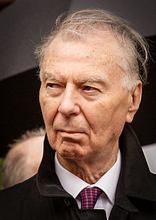 Leo Tindemans Belgian politician