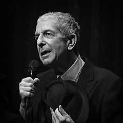 Leonard Cohen Leonard Cohen concert of the 2008 tour.jpg