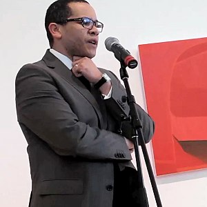Leslie Smith III - Leslie Smith III gives an art talk