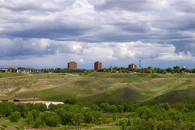 Lethbridge by Kmsiever at English Wikipedia [Public domain], via Wikimedia Commons