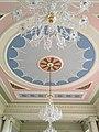 Lews Castle, Stornoway, ball room ceiling rose.jpg