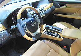 Lexus GS 450h fourth gen bamboo interior.jpg