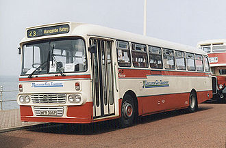 Leyland Leopard - Preserved Lancaster City Transport Y type bodied Leyland Leopard in Blackpool in August 2001