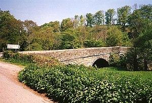 Greystone Bridge - Image: Lezant, Greystone Bridge geograph.org.uk 39087