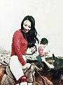 Li Jieru's horseback riding 1972.jpg
