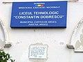 Liceul Agricol C. Dobrescu Arges din Curtea de Arges.JPG
