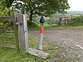 Lift Handle to Open Gate - geograph.org.uk - 1575460.jpg