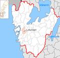 Lilla Edet Municipality in Västra Götaland County.png