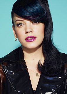 Lily Allen English singer, songwriter, author, and television presenter