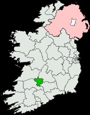 Limerick East (Dáil Éireann constituency) - Image: Limerick East (Dáil Éireann constituency)