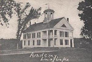 Limington, Maine - Limington Academy, c. 1904