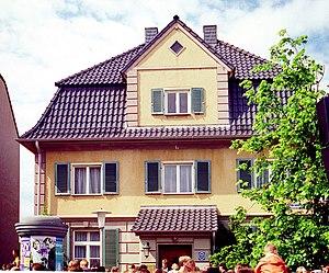 Lindenstraße - Lindenstraße Nr. 7, the Dressler residence