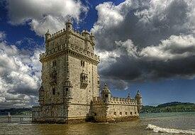 リスボンのジェロニモス修道院とベレンの塔の画像 p1_1